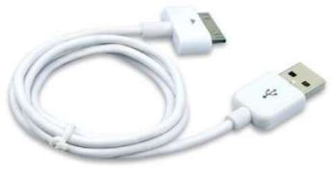 Dexim Charge & Sync Cable (DWA008NW) - USB-кабель для iPhone/iPod/iPad (White)