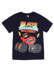 D002-11 футболка для мальчиков, темно-синяя