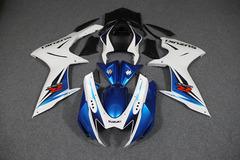 Комплект пластика для мотоцикла Suzuki GSX-R600/750 11-15 Сине-белый