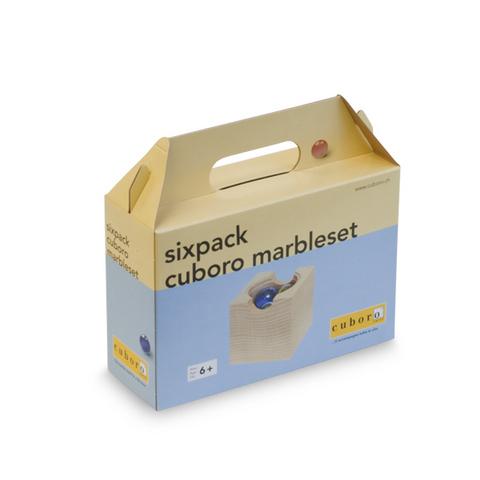 CUBORO CU-0145 Дополнительные элементы для Деревянного конструктора CUBORO - SixPack MARMEL SET