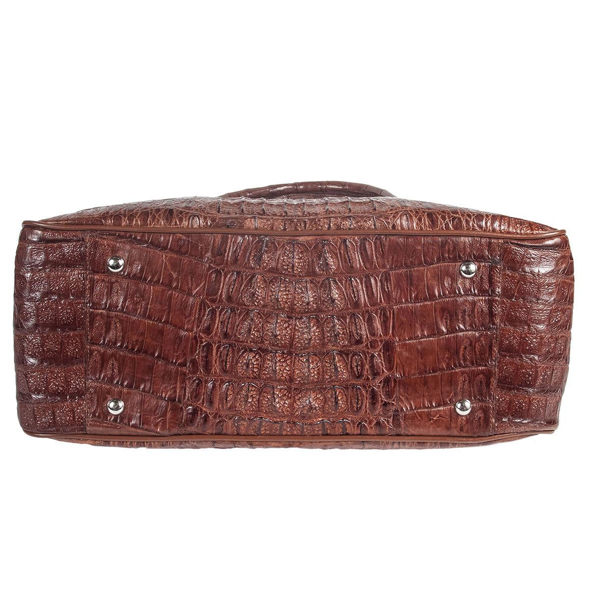 Эксклюзивные сумки из кожи крокодила