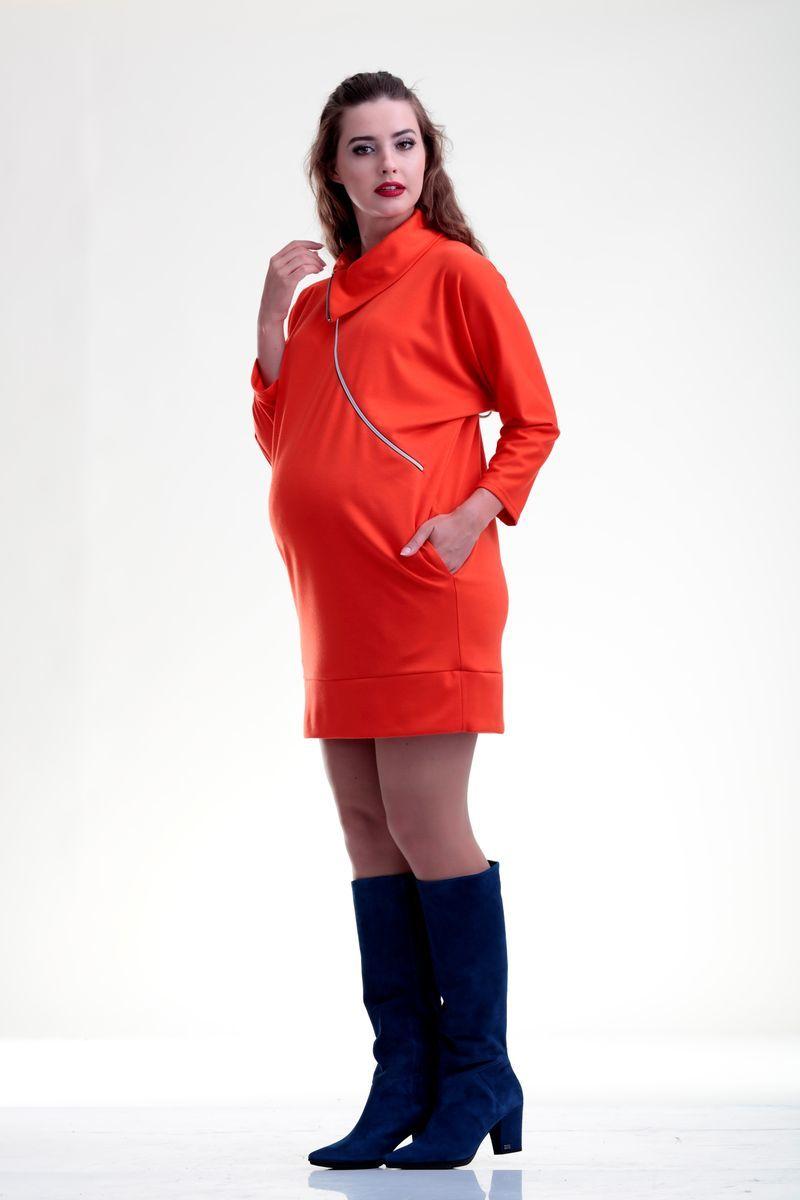 Туника 07700 оранжевый