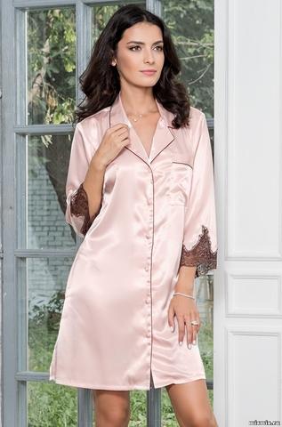 Халат-рубашка Mia Amore 3107 MARILIN (70% шелк)