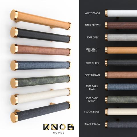 Ручка скоба N85 Leather