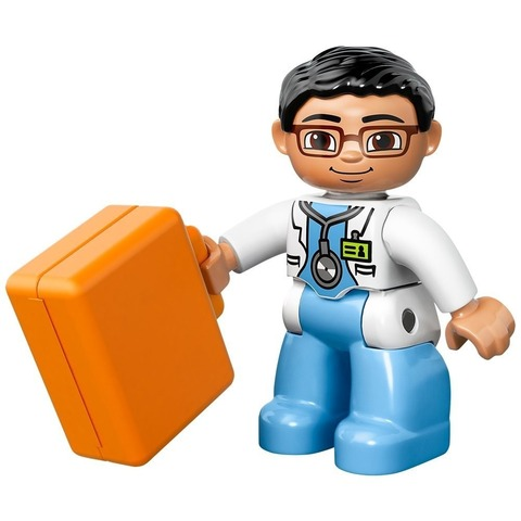 LEGO Duplo: Скорая Помощь 10527 — Ambulance — Лего Дупло