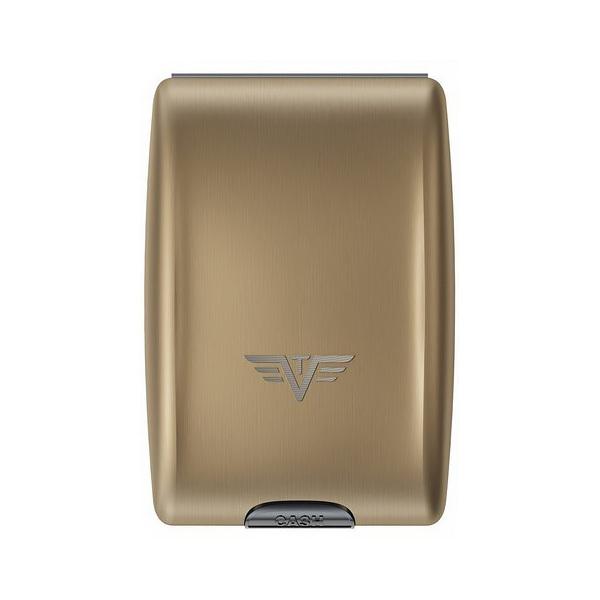 Кошелек c защитой Tru Virtu OYSTER, цвет светло-бежевый , 102*70*27 мм