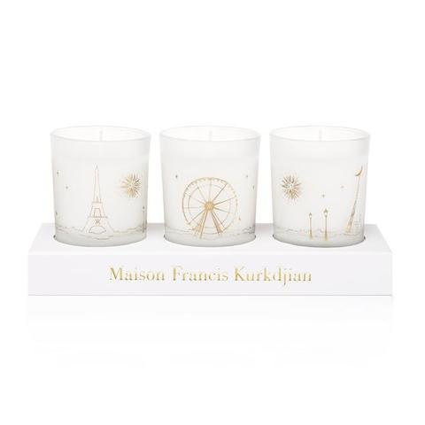 Maison Francis Kurkdjian Three scented candles