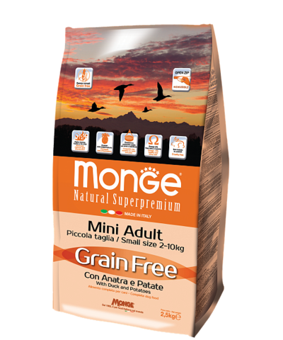 Monge Grain Free Mini Dog