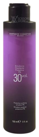 Окисляющая эмульсия со смягчающим и защитным действием DCM Protective Oxidizing Emulsion 9% 30 Vol. 150 мл