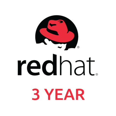 Red Hat Enterprise Linux Server, Premium (Physical or Virtual Nodes) 3-YEAR