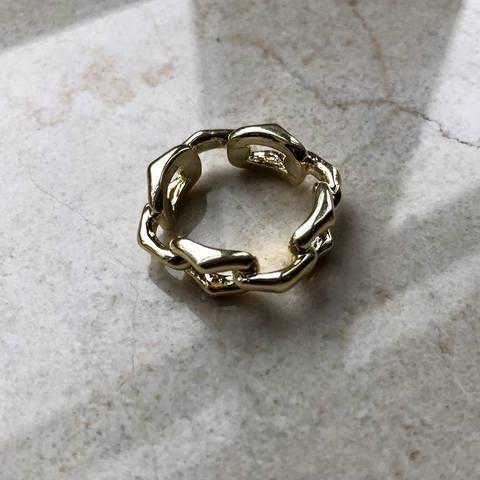 Кольцо Кастио, позолота