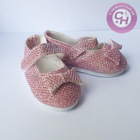 Обувь для кукол, туфли-балетки, 7×3,6 см, 1 пара.