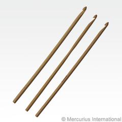 Крючок для вязания бамбуковый (Mercurius)