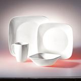 Набор посуды Pure White 16 пр, артикул 1069958, производитель - Corelle