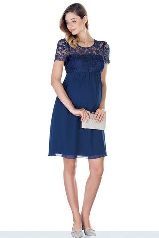 Платье 09447 синий