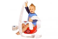 BIG Горшок детский с рулём и звуковыми эффектами (56801)