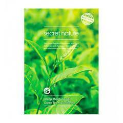 Secret Nature Green Tea Mask Sheet - Увлажняющая маска для лица с экстрактом зелёного чая