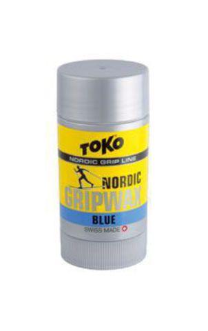 мазь лыжная Toko Nordic GripWax (синяя, -7°С/-30°С, 25 гр.)