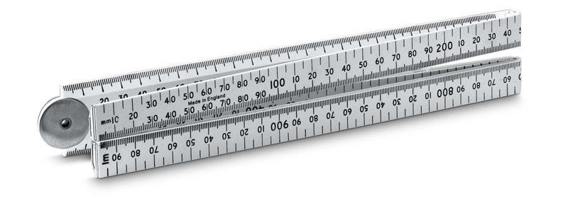 Метр складной пластмассовый 1м Stanley 0-35-445