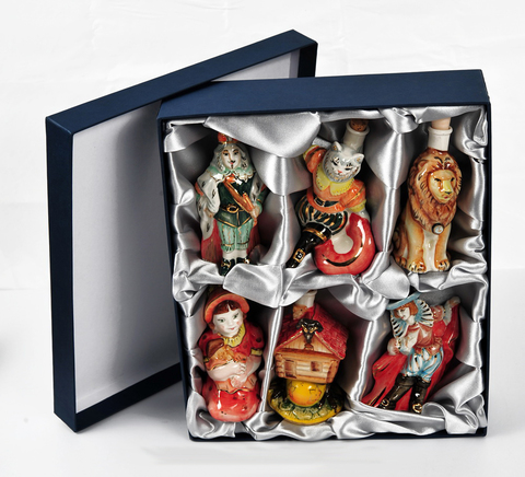 Подарочный набор мини-штофов №2 - 6шт