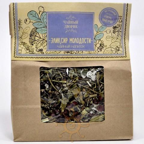 Чай травяной Эликсир молодости Чайный дворик, 150г