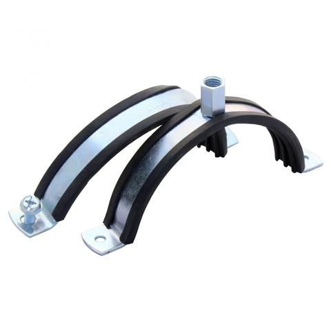 Хомут с резиновым профилем для воздуховода D 125 мм
