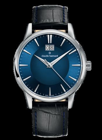 Купить мужские наручные часы Claude Bernard 63003 3 BUIN по доступной цене