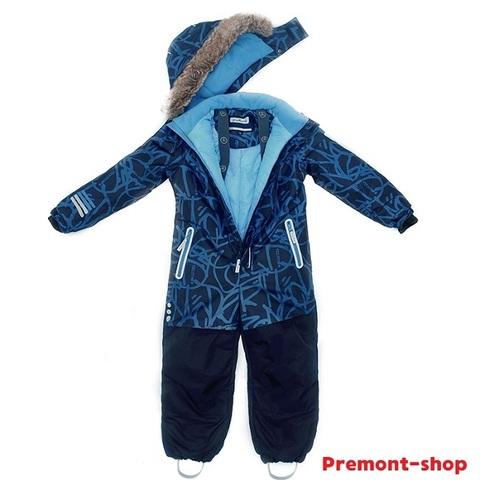 Комбинезон Premont для мальчика Льды Рэд-Ривер WP92175 BLUE