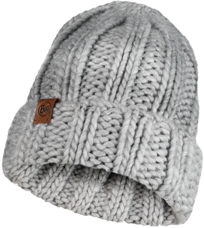 Шапки с отворотом Вязаная шапка Buff Hat Knitted Vanya Melange Grey 120834.938.10.00.jpg