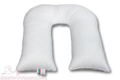АльВиТек. Подушка для беременных Бамбук-U-280, иск. лебяжий пух/бамбук