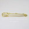 Основа для броши - булавка с 3 петельками, 76х20 мм (цвет - золото)