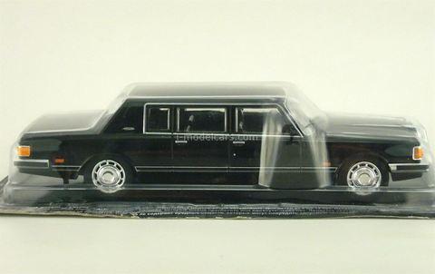 ZIL-41047 black 1:43 DeAgostini Auto Legends USSR #44