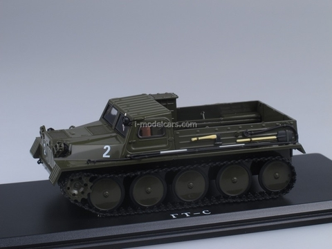GAZ-47 GT-S 1954 Crawler Transporter 1:43 Start Scale Models (SSM)