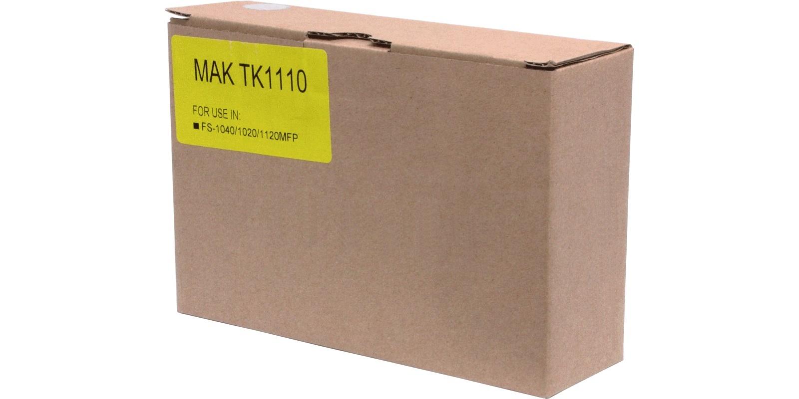 Kyocera MAK TK-1110, черный, чип в комплекте, до 2500 стр.