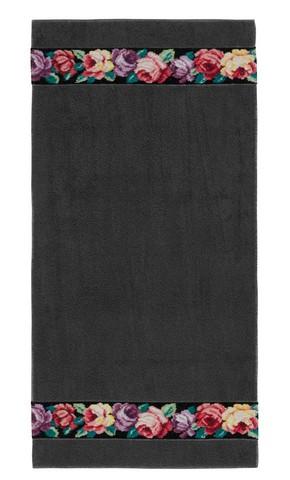 Полотенце 50x100 Feiler Sorrent schwarz темно-серое