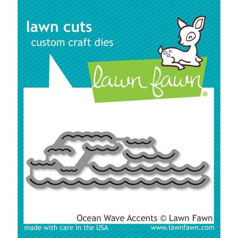 Ножи Lawn Cuts -Ocean Wave Accents