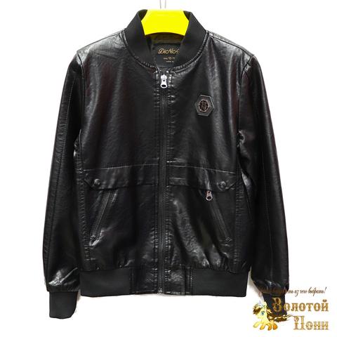 Куртка экокожа мальчику (8-14) 200318-W1922.1