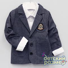 Комплект пиджак с рубашкой