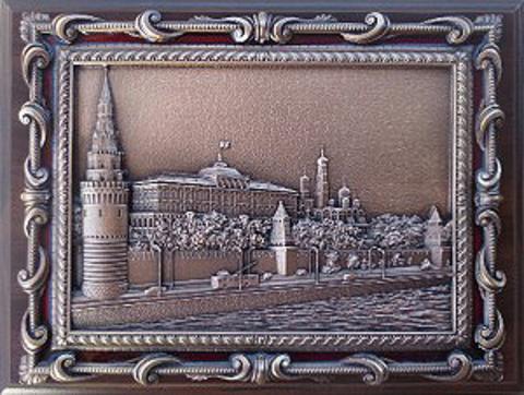 """Плакетка """"Кремлёвская набережная"""""""