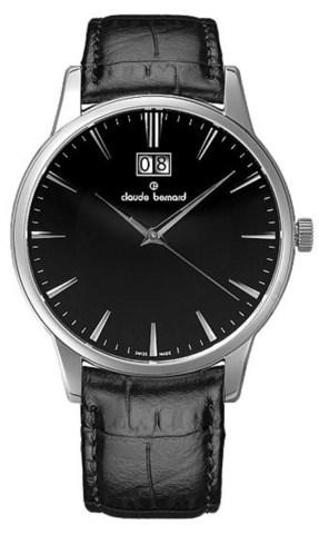 Купить мужские наручные часы Claude Bernard 63003 3 NIN по доступной цене