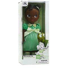 Кукла принцесса Диснея Тиана Аниматорз