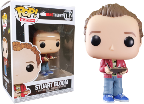 Фигурка Funko Pop! TV: The Big Bang Theory - Stuart Bloom