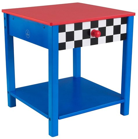 KidKraft Гоночная машина Race Car Side Table - прикроватный столик 76041_KE