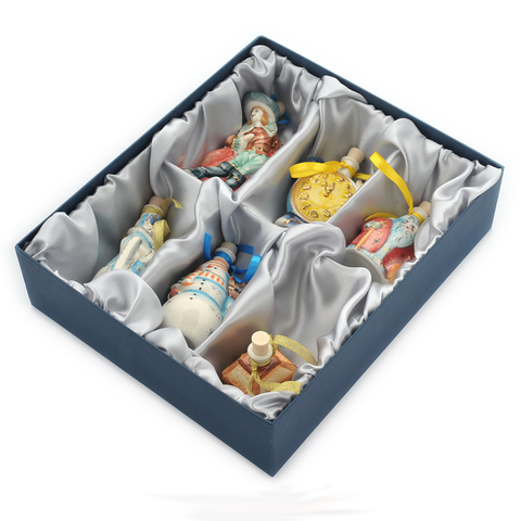 Подарочный набор мини-штофов №3 - 6шт