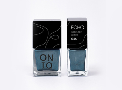 ONP-046 Лак для стемпинга.  Echo: Sapphire Heart
