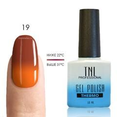 Термо гель-лак TNL 19 - корица/оранжевый, 10 мл