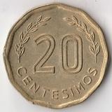 K7173, 1981, Уругвай, 20 сентесимо