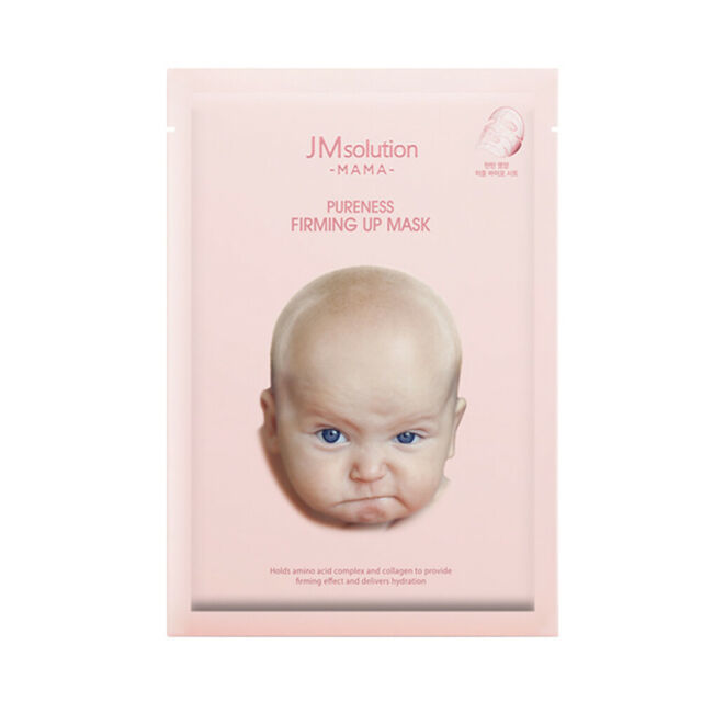 Тканевая маска для лица омолаживающая JM Solution Mama Pureness Firming Up Mask