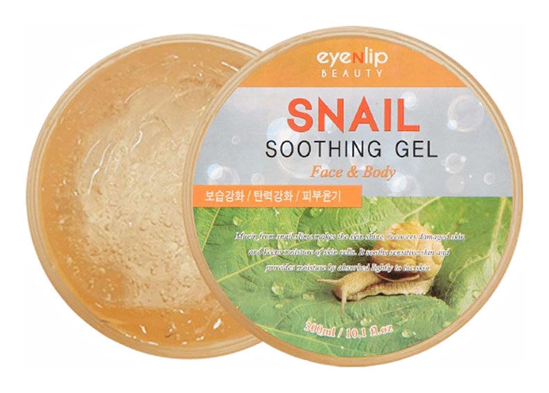 Гель для тела улиточный EYENLIP Snail Soothing Gel 300ml