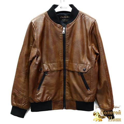 Куртка экокожа мальчику (8-14) 200318-W1922.2
